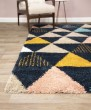 Product Image of Blue, Cream, White Southwestern / Lodge Area Rug