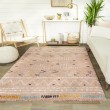 Product Image of Pink, White, Gold Moroccan Area Rug