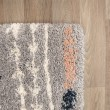 Product Image of Grey, Blue, Orange Moroccan Area Rug