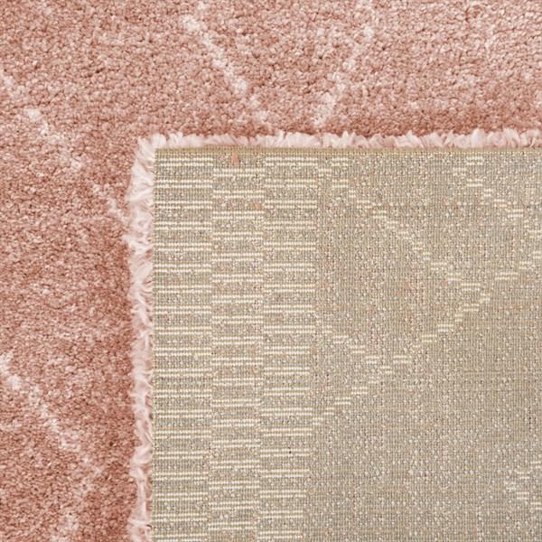 Pink, Orange, Cream Moroccan Area Rug