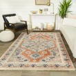 Product Image of Orange, Pink, Off-White Bohemian Area Rug