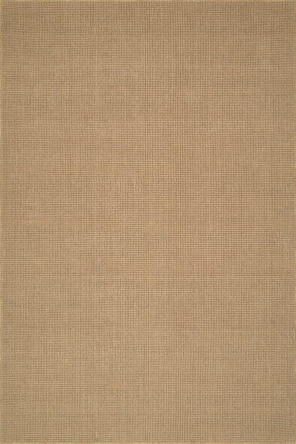Wheat Casual Area Rug