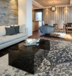 Product Image of Linen, Silver Moroccan Area Rug