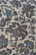 Product Image of Silver, Linen Floral / Botanical Area Rug