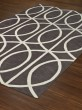 Product Image of Dolphin, White Contemporary / Modern Area Rug