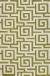 Product Image of Contemporary / Modern Citron, White Area Rug