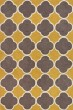 Product Image of Dandelion, Grey, White Contemporary / Modern Area Rug