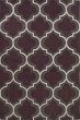 Product Image of Contemporary / Modern Plum, White Area Rug
