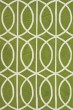 Product Image of Contemporary / Modern Clover, White Area Rug
