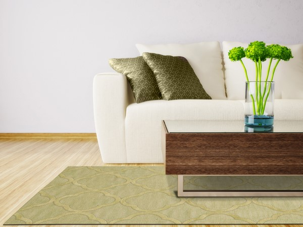 Mint (118) Transitional Area Rug