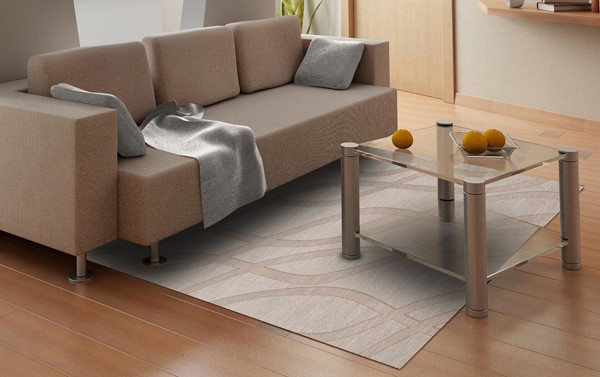 Putty (101) Transitional Area Rug