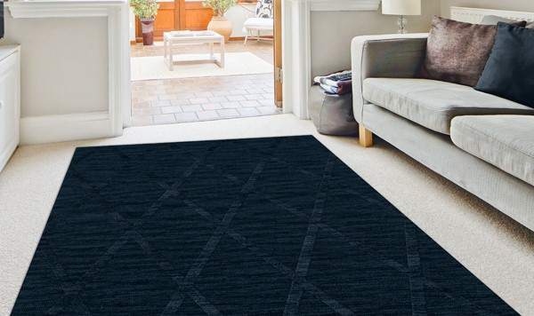 Navy (116) Transitional Area Rug