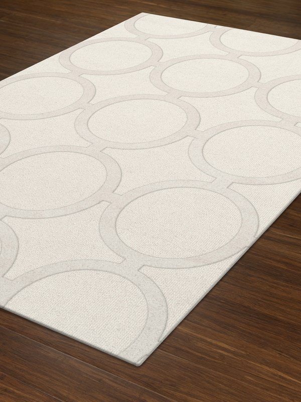 Snow (100) Transitional Area Rug