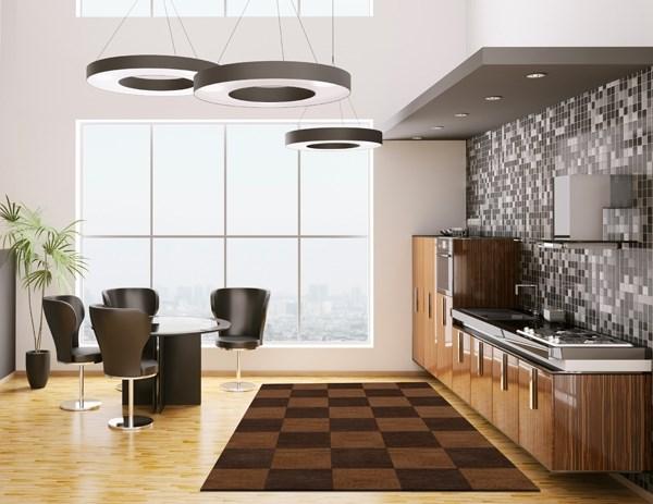 Caramel (105) Contemporary / Modern Area Rug