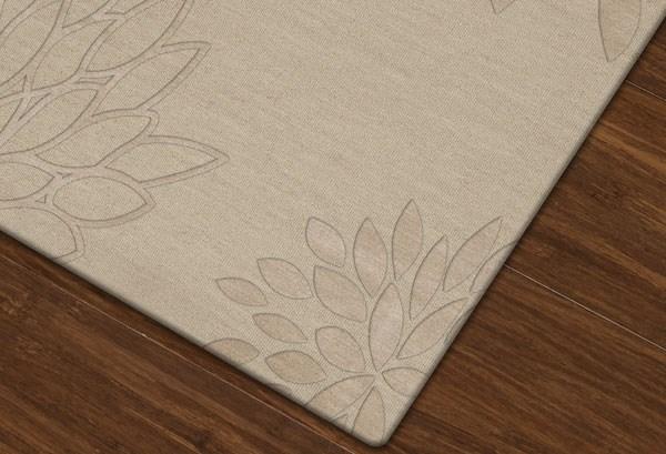 Linen (148) Floral / Botanical Area Rug