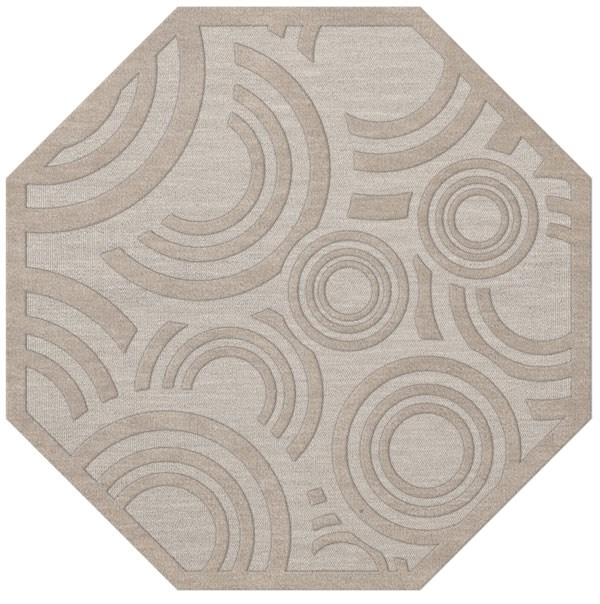 Putty (101) Contemporary / Modern Area Rug