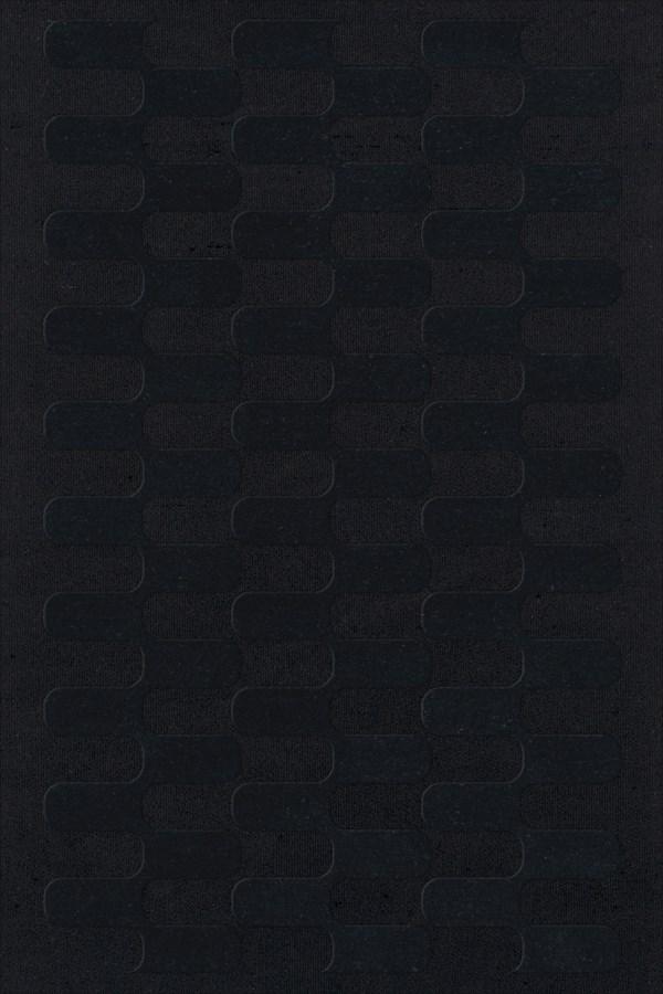 Black (111) Contemporary / Modern Area Rug