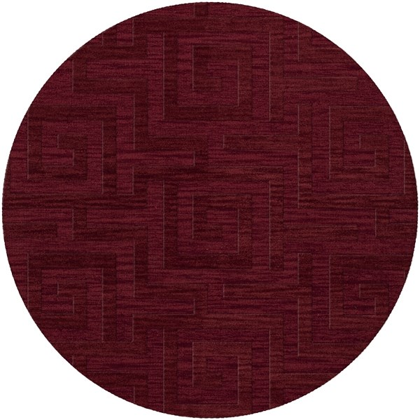 Rich Red (141) Contemporary / Modern Area Rug