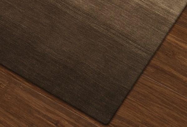 Chocolate Contemporary / Modern Area Rug