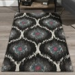 Product Image of Charcoal, Silver, Grey, Pink Moroccan Area Rug