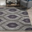 Product Image of Plum, Grey, Silver Moroccan Area Rug