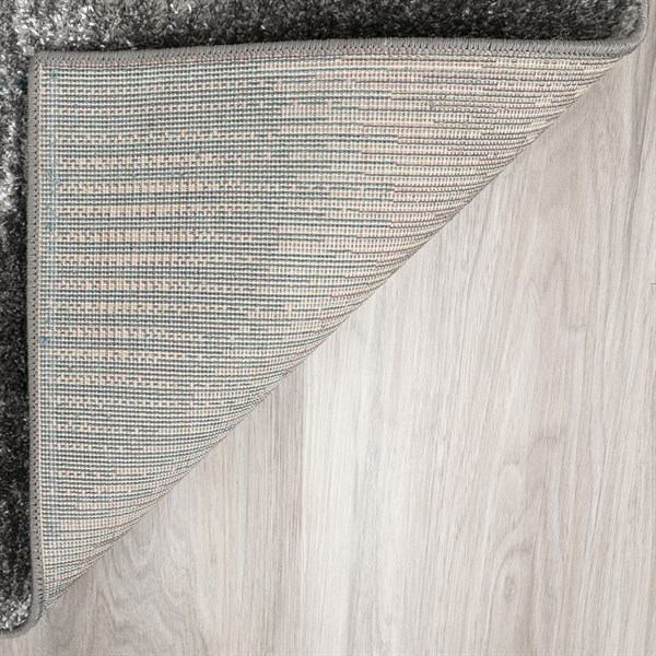 Teal, Grey, Silver Moroccan Area Rug