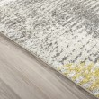 Product Image of Graphite, Yellow, Grey Transitional Area Rug