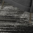 Product Image of Pewter, Grey, Silver, Linen Transitional Area Rug