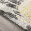 Product Image of Lemon, Linen, Grey Contemporary / Modern Area Rug