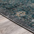 Product Image of Charcoal, Blue Vintage / Overdyed Area Rug