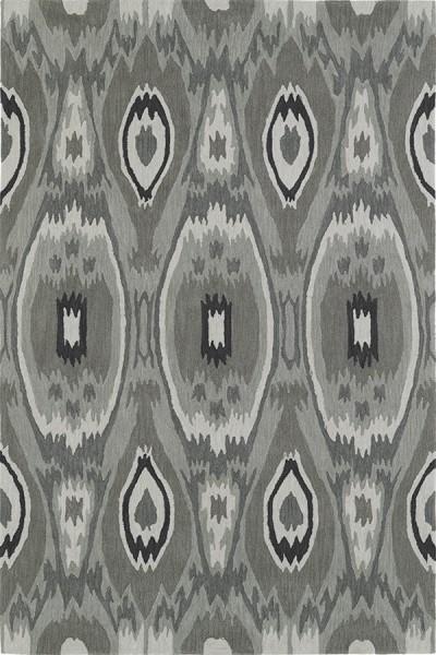 Silver, Fawn, Charcoal Bohemian Area Rug