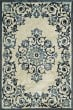 Product Image of Traditional / Oriental Ivory, Blue, Navy Area Rug