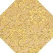 Product Image of Lemonade, Yellow Damask Area Rug