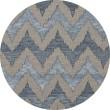 Product Image of Indigo, Gray, Blue Contemporary / Modern Area Rug