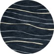 Product Image of Navy, Blue, Ivory Transitional Area Rug