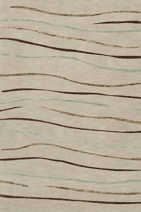 Putty, Brown, Taupe Transitional Area Rug