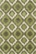 Product Image of Bohemian Fern, Ivory, Green Area Rug