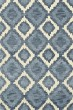 Product Image of Bohemian Indigo, Ivory, Blue Area Rug