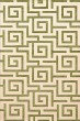 Product Image of Contemporary / Modern Lime, Ivory Area Rug