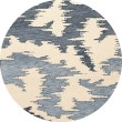 Product Image of Blue Harbor, Ivory, Blue Contemporary / Modern Area Rug
