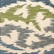Product Image of Peacock, Ivory, Grey, Green Contemporary / Modern Area Rug