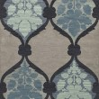 Product Image of Navy, Grey, Blue Transitional Area Rug