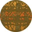 Product Image of Avocado, Gold, Orange Contemporary / Modern Area Rug