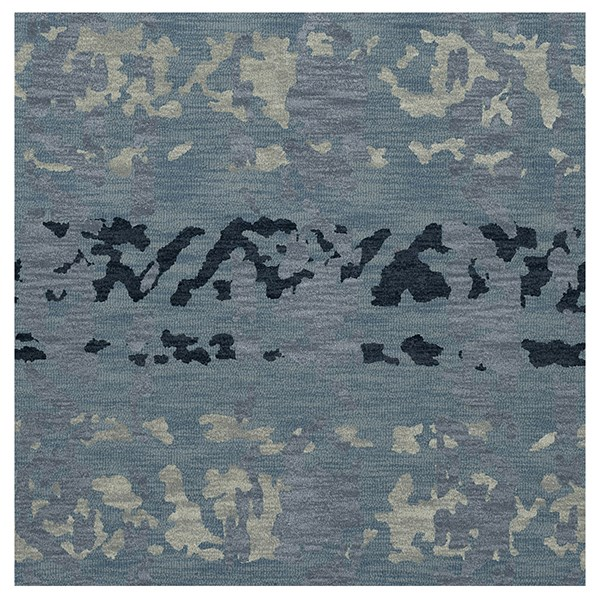 Sky, Blue, Grey Contemporary / Modern Area Rug