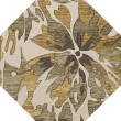 Product Image of Lamb, Taupe, Brown, Gold Floral / Botanical Area Rug