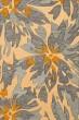 Product Image of Floral / Botanical Lemonade, Blue, Gold Area Rug