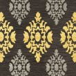 Product Image of Ash, Yellow, Grey Damask Area Rug