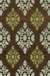 Product Image of Damask Fudge, Green, Blue Area Rug