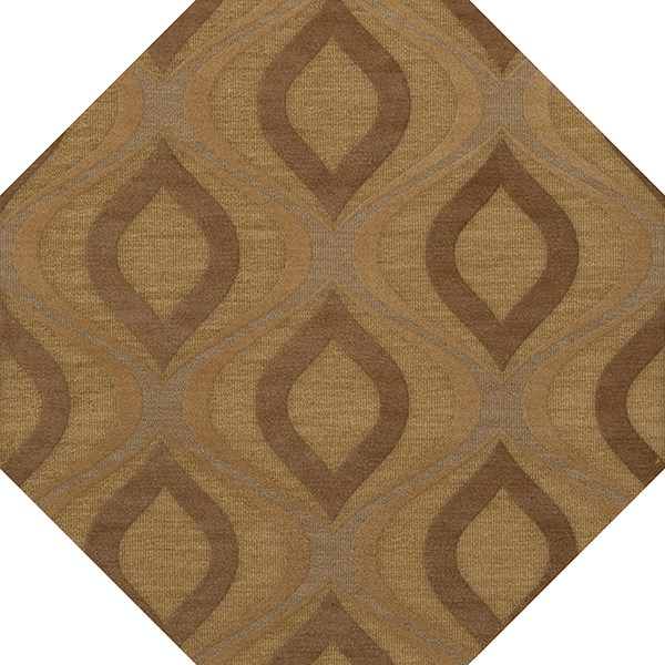 Amber, Gold Moroccan Area Rug