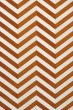 Product Image of Chevron Tangerine, Ivory Area Rug